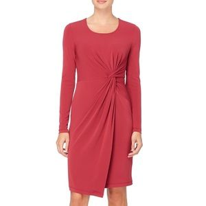 Catherine Malandrino Red Dress Knee Length NWT